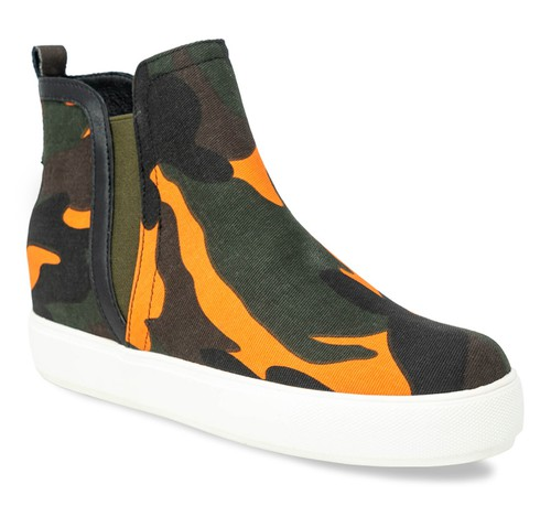HIGH TOP WEDGE SNEAKER - orangeshine.com