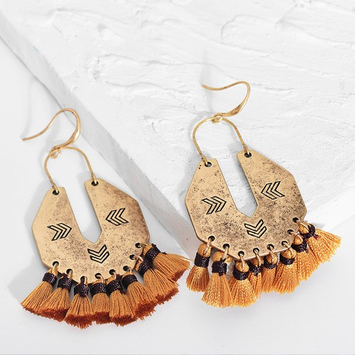 Boho fall earrings - orangeshine.com