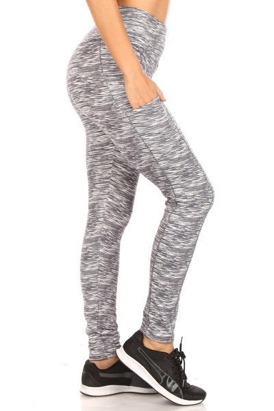 Body Shaper Fleece Leggings Pockets - orangeshine.com