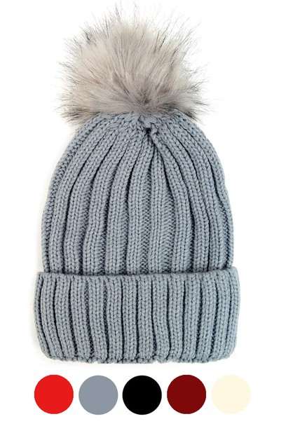 Ladies Knit Winter Hat - orangeshine.com