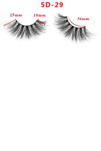 5D False Eyelashes Mink Fur Lashes - orangeshine.com