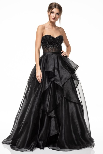 Strapless Evening Dresses - orangeshine.com