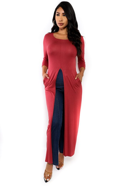 MAXI TUNIC TOP - orangeshine.com