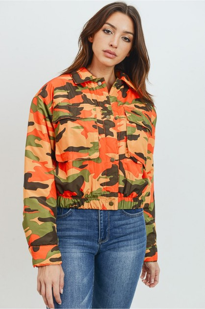 Padded camo jacket - orangeshine.com