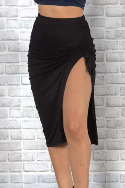 High waist split skirt - orangeshine.com