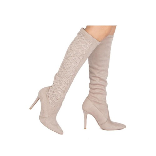 Over Knee Thigh High Boots - orangeshine.com