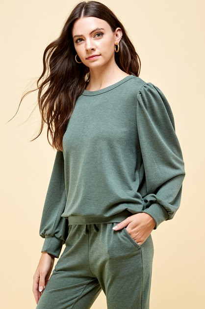 Solid Comfy Sweater - orangeshine.com