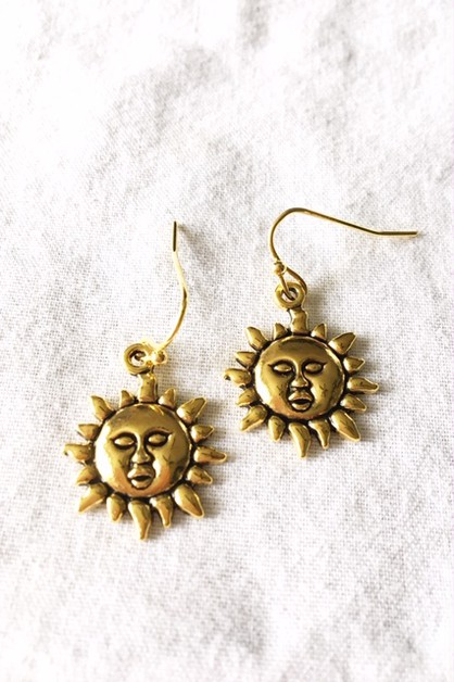 Sunshine earrings - orangeshine.com