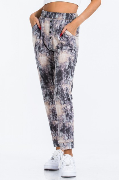 Abstract Jogger Pants - orangeshine.com