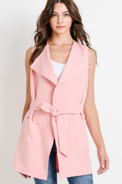 Long Fashion Vest - orangeshine.com