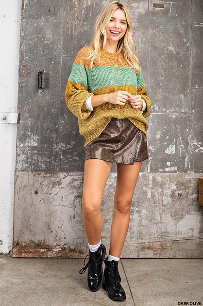Snake Print Short Skirt Pants - orangeshine.com