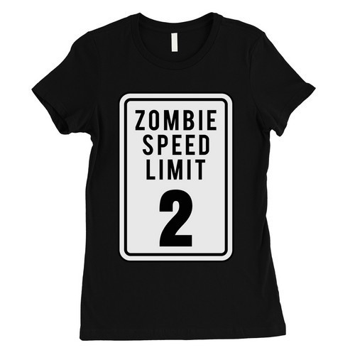 Zombie Speed Limit T-Shirt - orangeshine.com