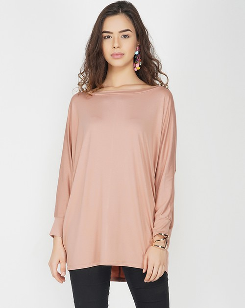 Rosette Knit Top - orangeshine.com