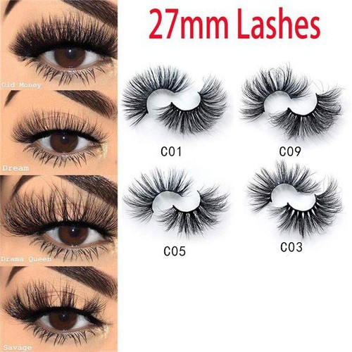 27MM 3D Genuine Mink Lashes - orangeshine.com