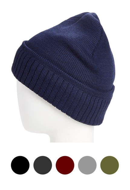 FUR-LINED CUFF BEANIE - NEW COLORS - orangeshine.com