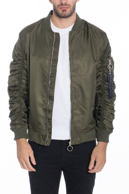 MA-1 Flight Lined Bomber Jacket - orangeshine.com