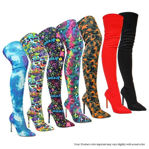 High heel Boots - orangeshine.com