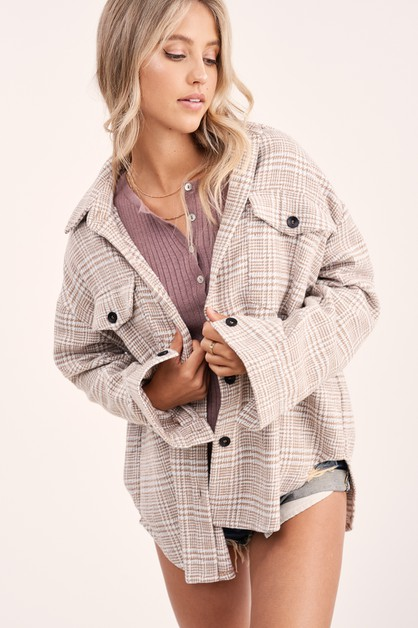 Dakota Plaid Jacket - orangeshine.com