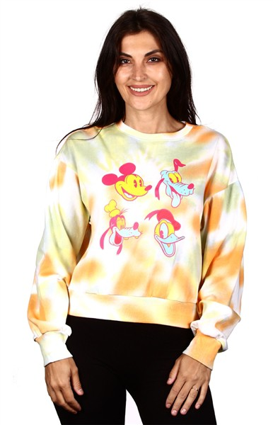 YELLOW MICKEY SWEATSHIRTS - orangeshine.com