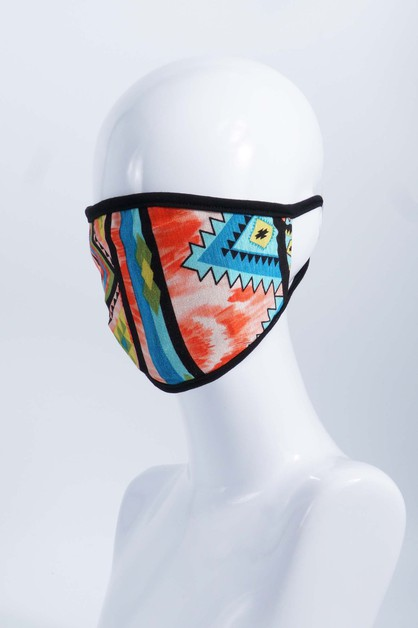Printed Face Mask - orangeshine.com