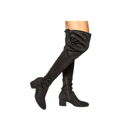 Thigh High Heel Boot - orangeshine.com