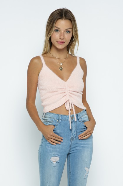 Knit Crop Top - orangeshine.com