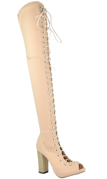 Thigh High Boot - orangeshine.com