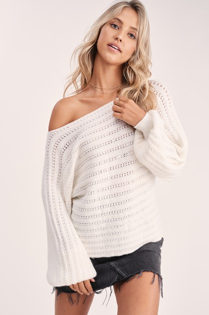 Pinot Knit sweater - orangeshine.com