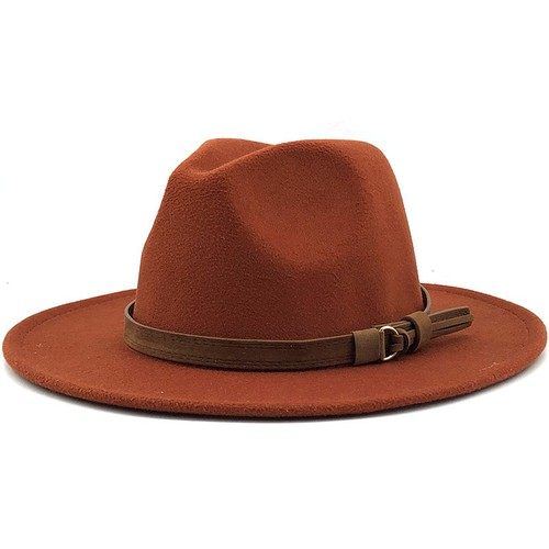 Women wide brim fedora hats - orangeshine.com