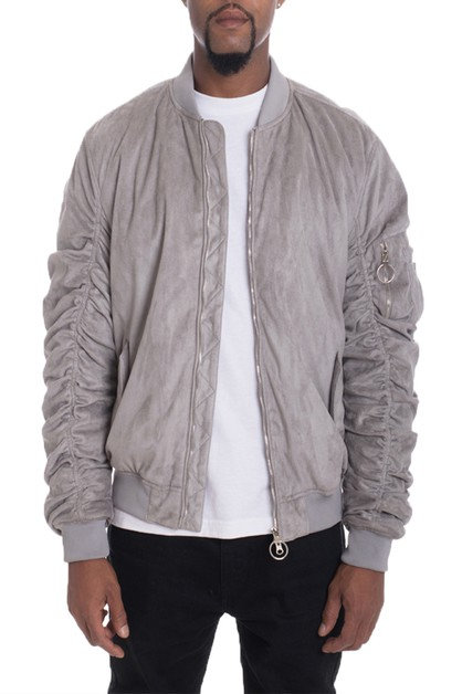 Casual Slim Fit Bomber Jacket - orangeshine.com
