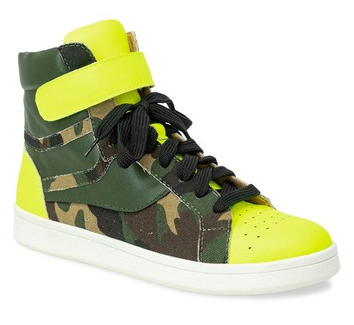 HIGH TOP SNEAKER Dance Fitness - orangeshine.com