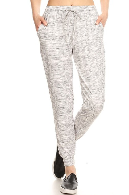 Grey Fleece Lined Joggers Sweatpants - orangeshine.com