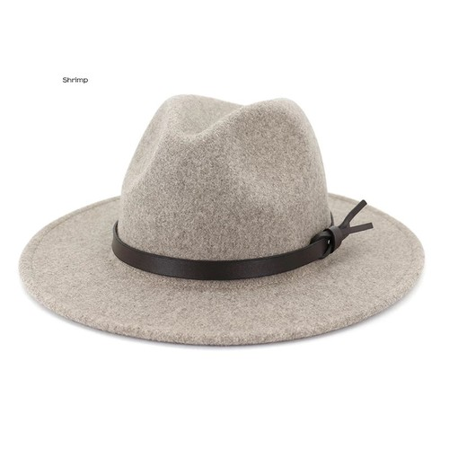 Womens wool felt fedora hats - orangeshine.com