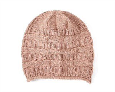 SOFT PATTERN BEANIE - orangeshine.com