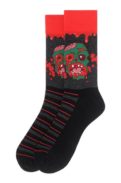 Men Monster Halloween Novelty Socks - orangeshine.com
