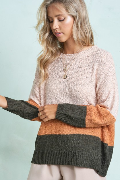 Cleo Sweater - orangeshine.com