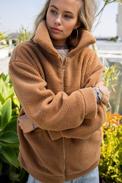 Claudia Fur Jacket - orangeshine.com