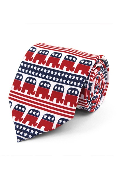 Republican Novelty Tie - orangeshine.com