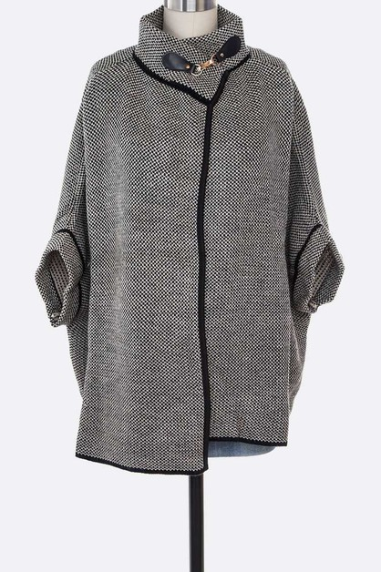 Fashion Cape Cardigan Poncho - orangeshine.com