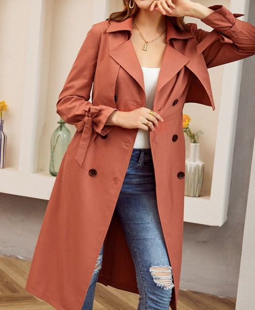 Jeanette Trench Coat  - orangeshine.com