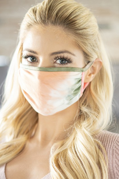 COLORED REUSABLE FACE MASK FOR ADULT - orangeshine.com