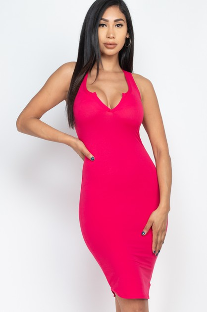 Racer Back Dress - orangeshine.com
