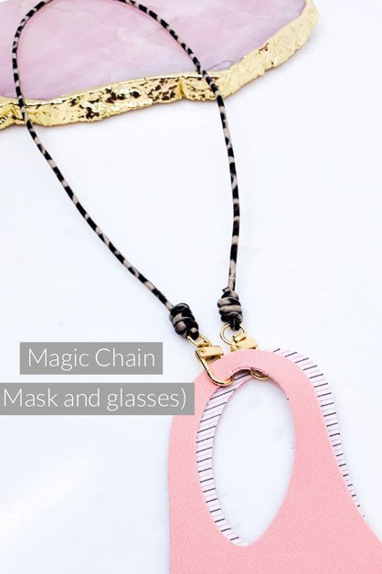Mask and Glasses Chain - orangeshine.com