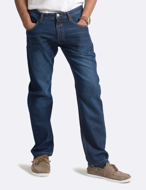 Mens Denim Pants Regular Fit - orangeshine.com