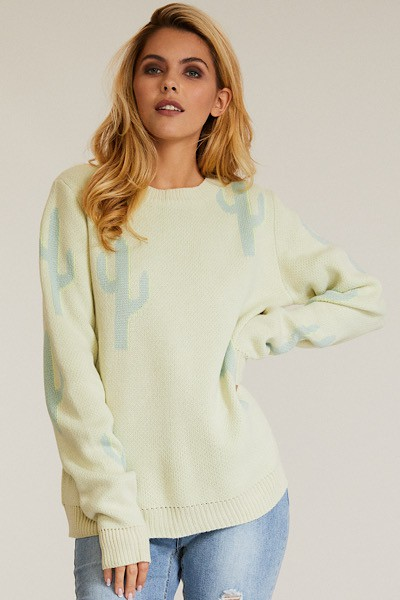 Color block sweater - orangeshine.com