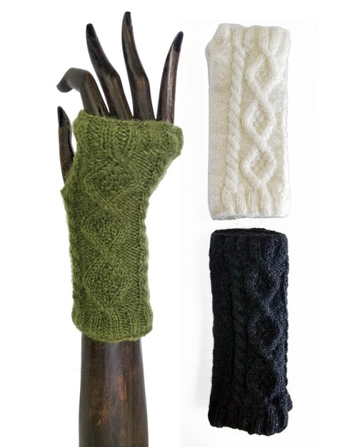 Solid Color Knit Hand Warmers - orangeshine.com