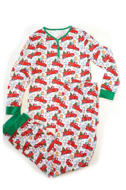 Christmas tree pajama set for mom - orangeshine.com