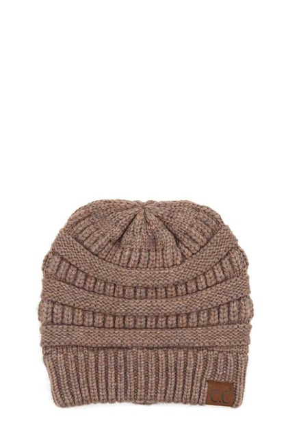 CC MIXED SOFT YARN BEANIE - orangeshine.com