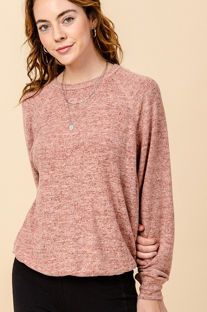 BUBBLE HEM TOP - orangeshine.com