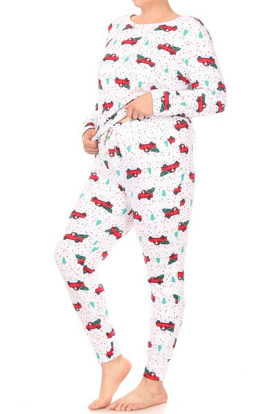 Plus Size Christmas Sets Pajamas Win - orangeshine.com